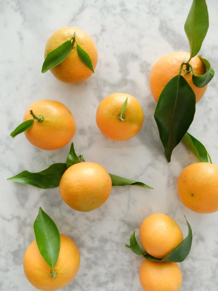 Fruta de temporada: mandarinas