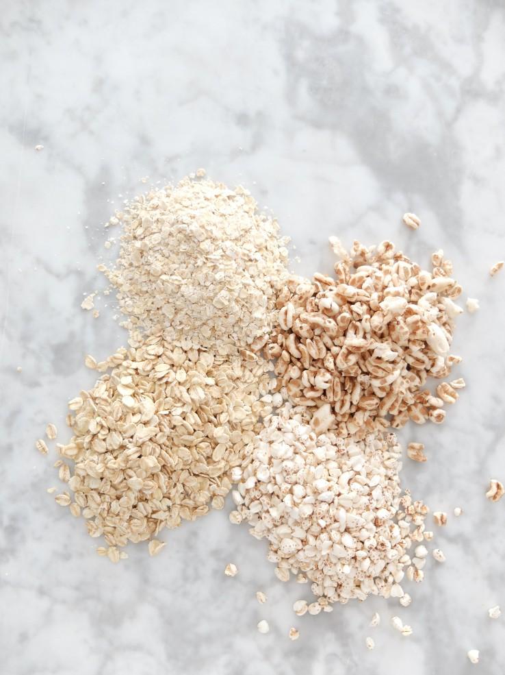 Copos de cereales sin azúcares añadidos